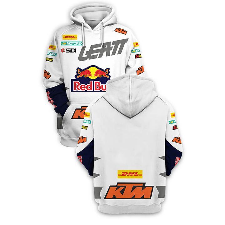ktm motorex red bull full printing hoodie 2