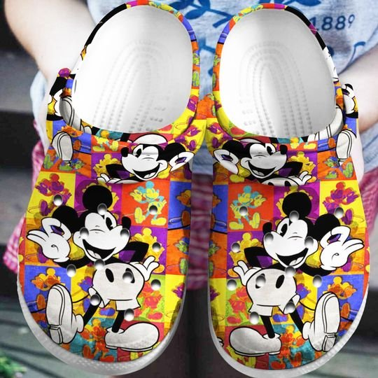 mickey mouse crocband clog 1