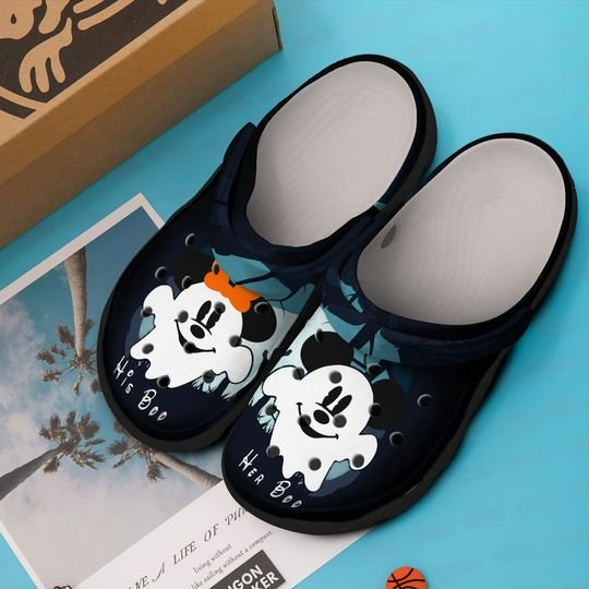 mickey mouse in halloween crocband clog 1