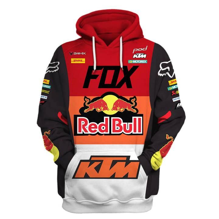 monster energy fox racing ktm pod full printing shirt 1