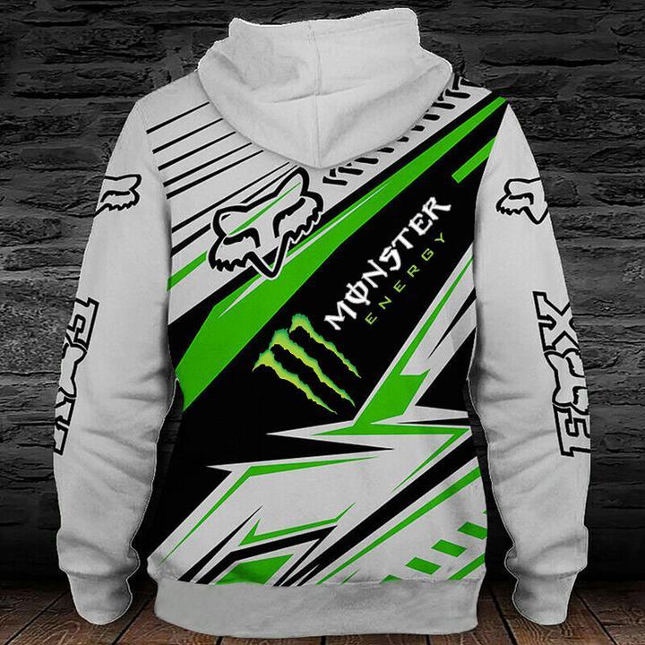 monster energy fox racing motocross supercross full printing hoodie 1