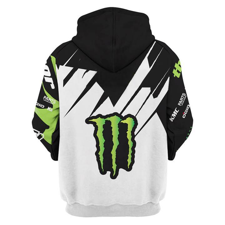 monster energy pro circuit racing full printing hoodie 1