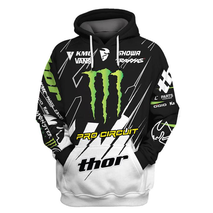 monster energy pro circuit racing full printing shirt 1