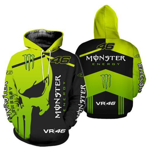 monster energy sky racing team vr46 full printing shirt 2