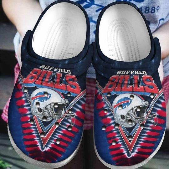 national football league buffalo bills helmet crocband clog 1