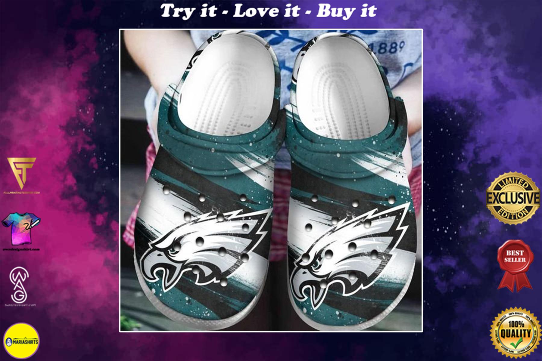 national football league philadelphia eagles crocband clog - Copy