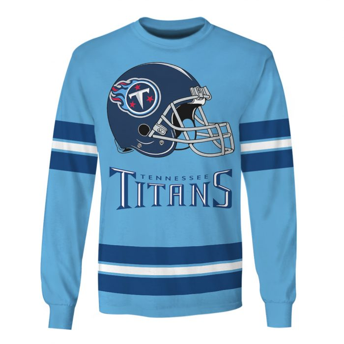 national football league tennessee titans full over printed sweatshirt