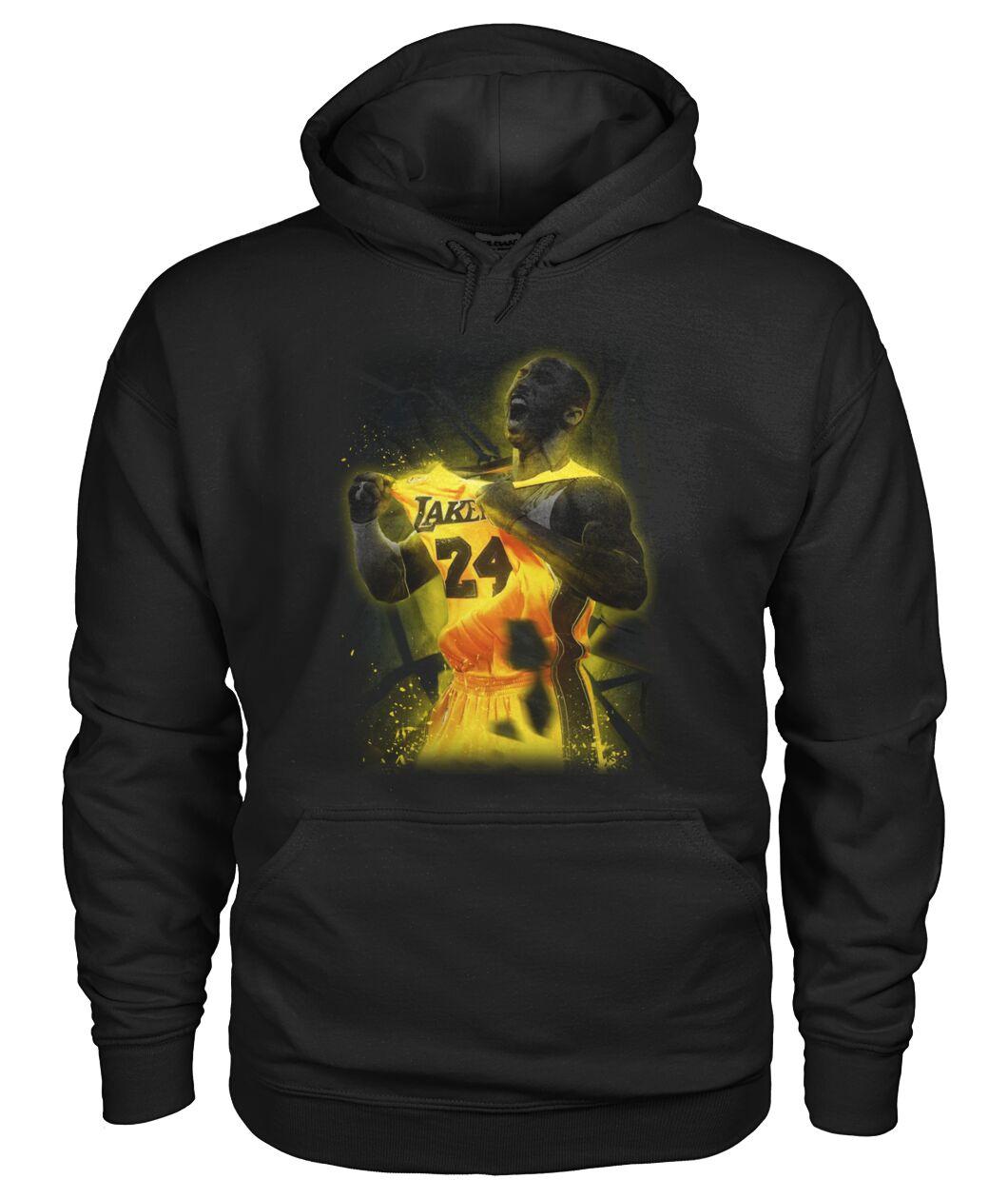 nba los angeles lakers kobe bryant hoodie