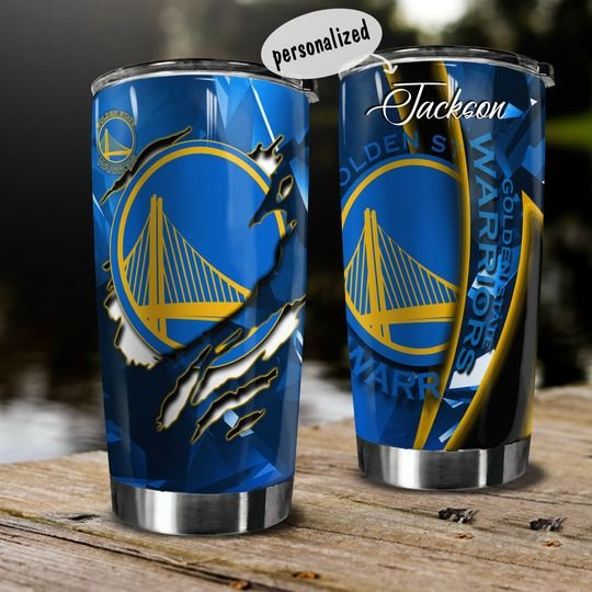 personalized name golden state warriors team tumbler 1
