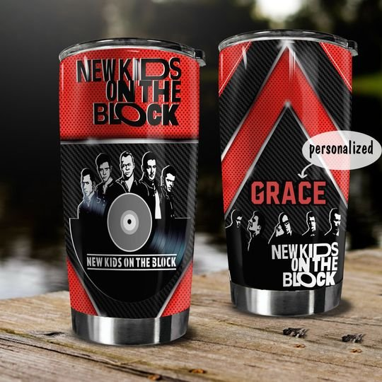 personalized name new kids on the block tumbler 1