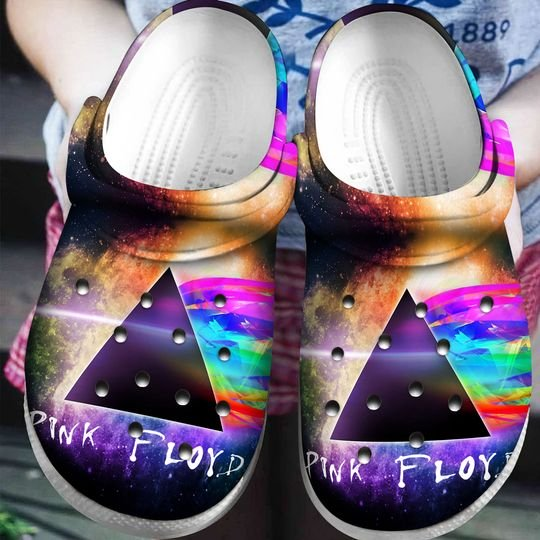 pink floyd the dark side of the moon crocband clog 1 - Copy