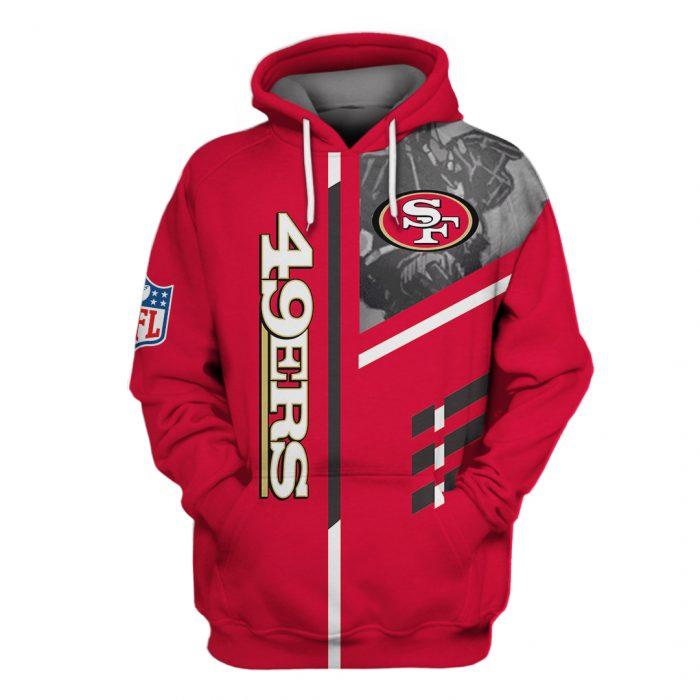 san francisco 49ers go niners full over printed hoodie