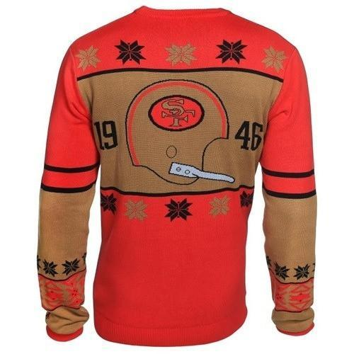 san francisco 49ers holiday ugly christmas sweater 3 - Copy