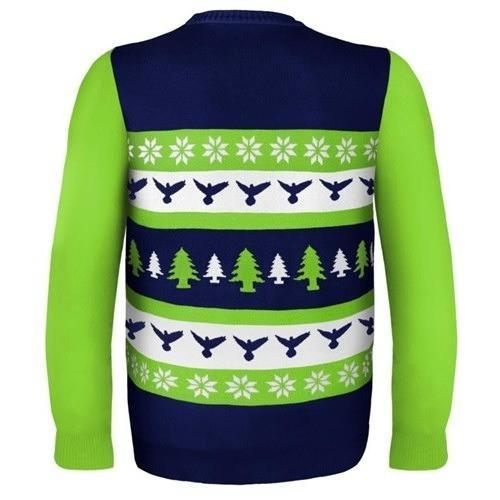 seattle seahawks ugly christmas sweater 3