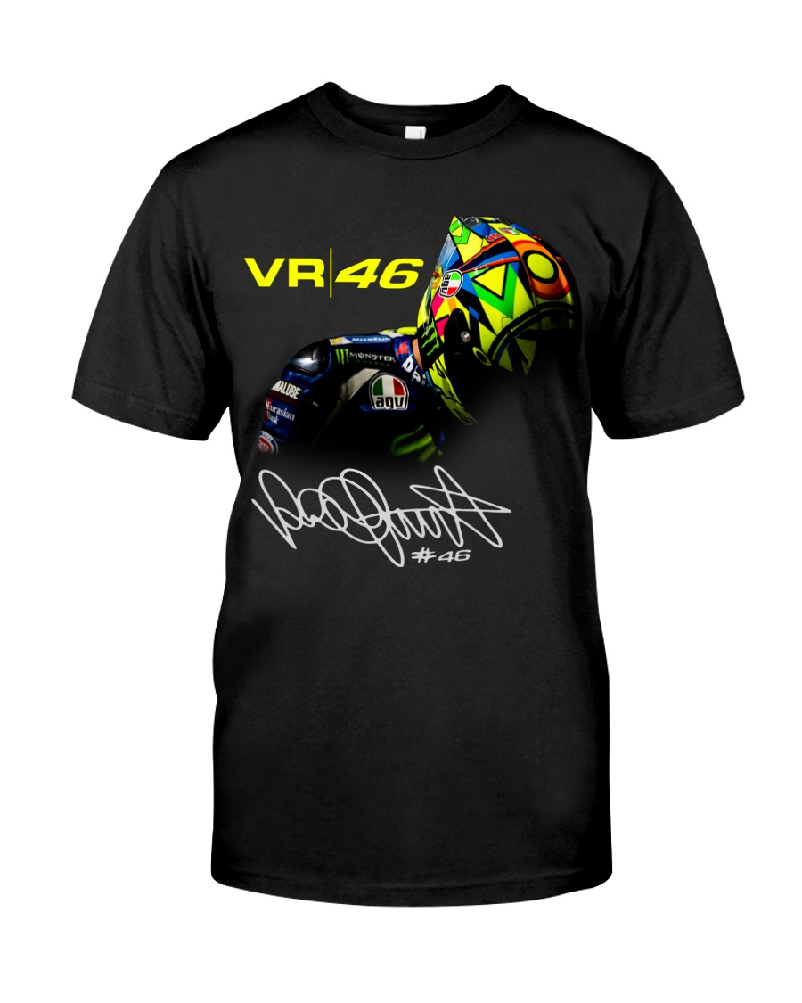 sky racing team vr46 valentino rossi tshirt