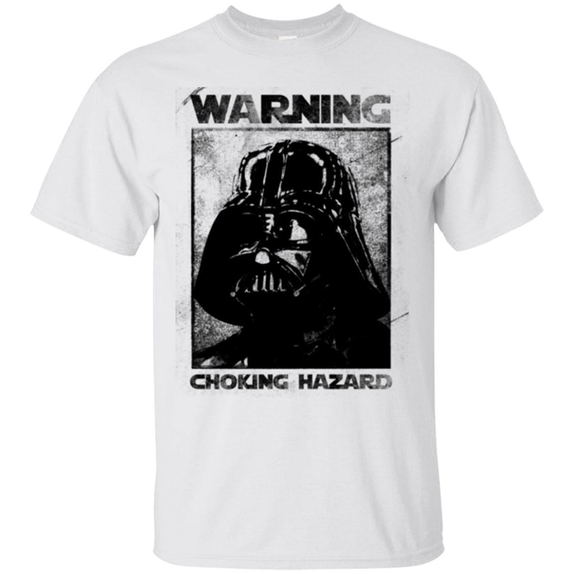 star wars darth vader warning choking hazard shirt 2