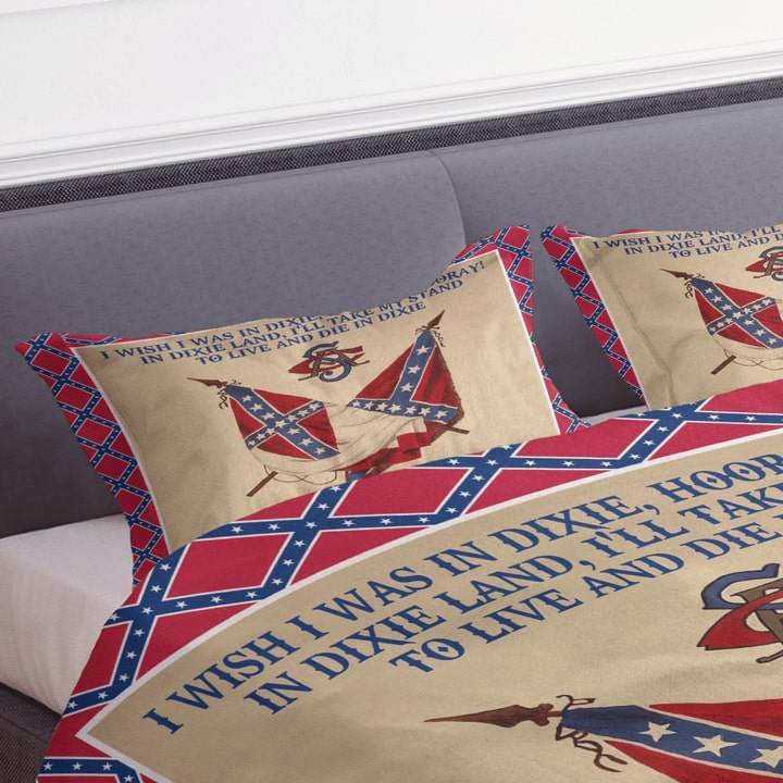 the flags of the confederate states of america dixie lyrics bedding set 3