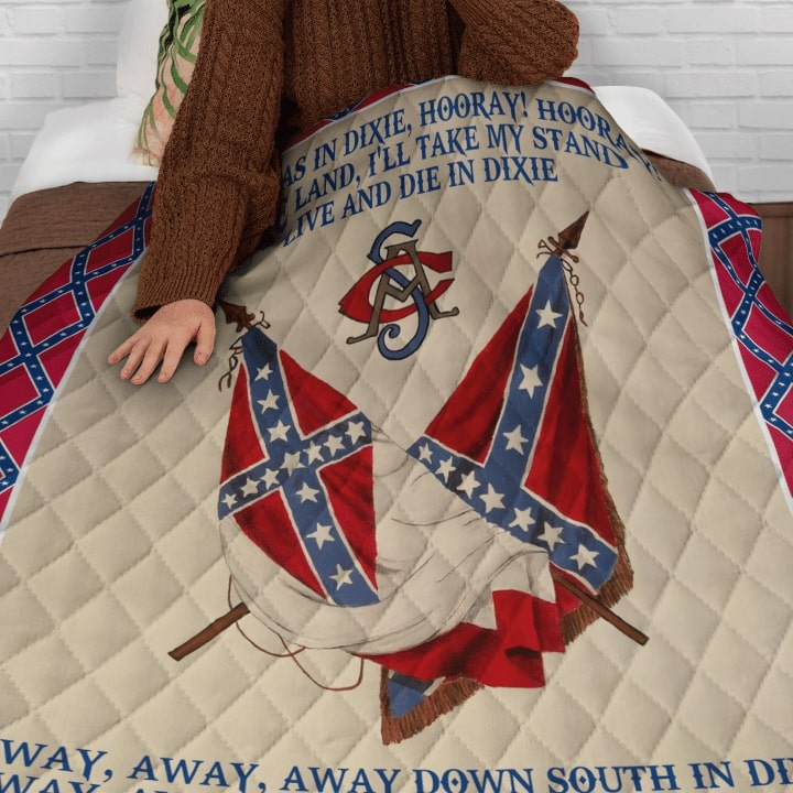 the flags of the confederate states of america dixie lyrics bedding set 4
