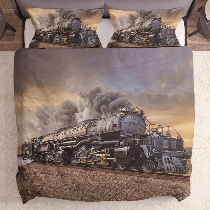 union pacific big boy bedding set 1