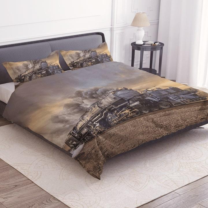 union pacific big boy bedding set 3