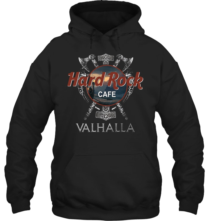 valhalla viking hard rock cafe hoodie