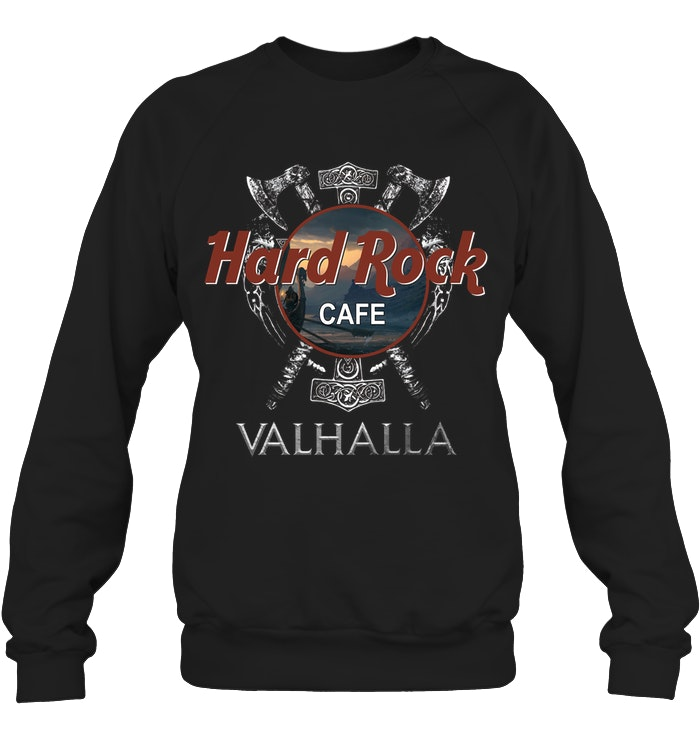 valhalla viking hard rock cafe sweatshirt
