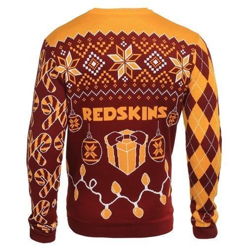 washington redskins ugly christmas sweater 3