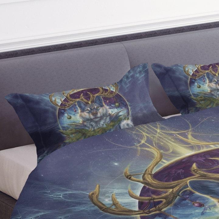 wolf spirit dreamcatcher bedding set 4
