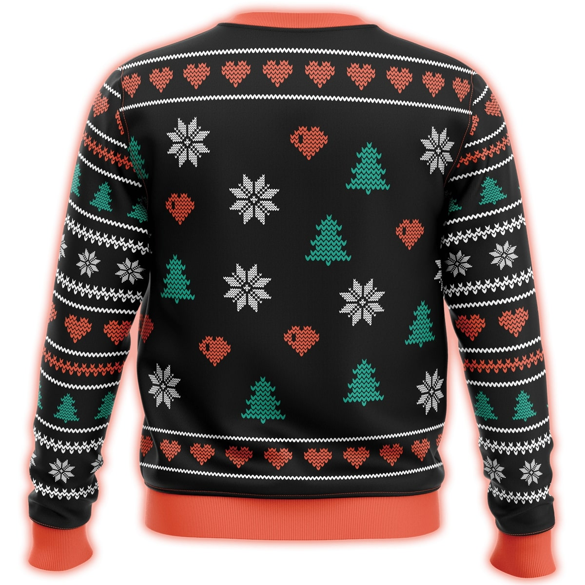 all i want for christmas is you trump all over printed ugly christmas sweater 4