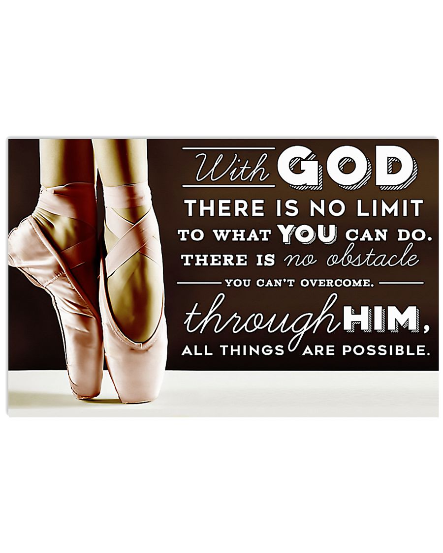 ballet with God there is no limit to what you can do poster 1
