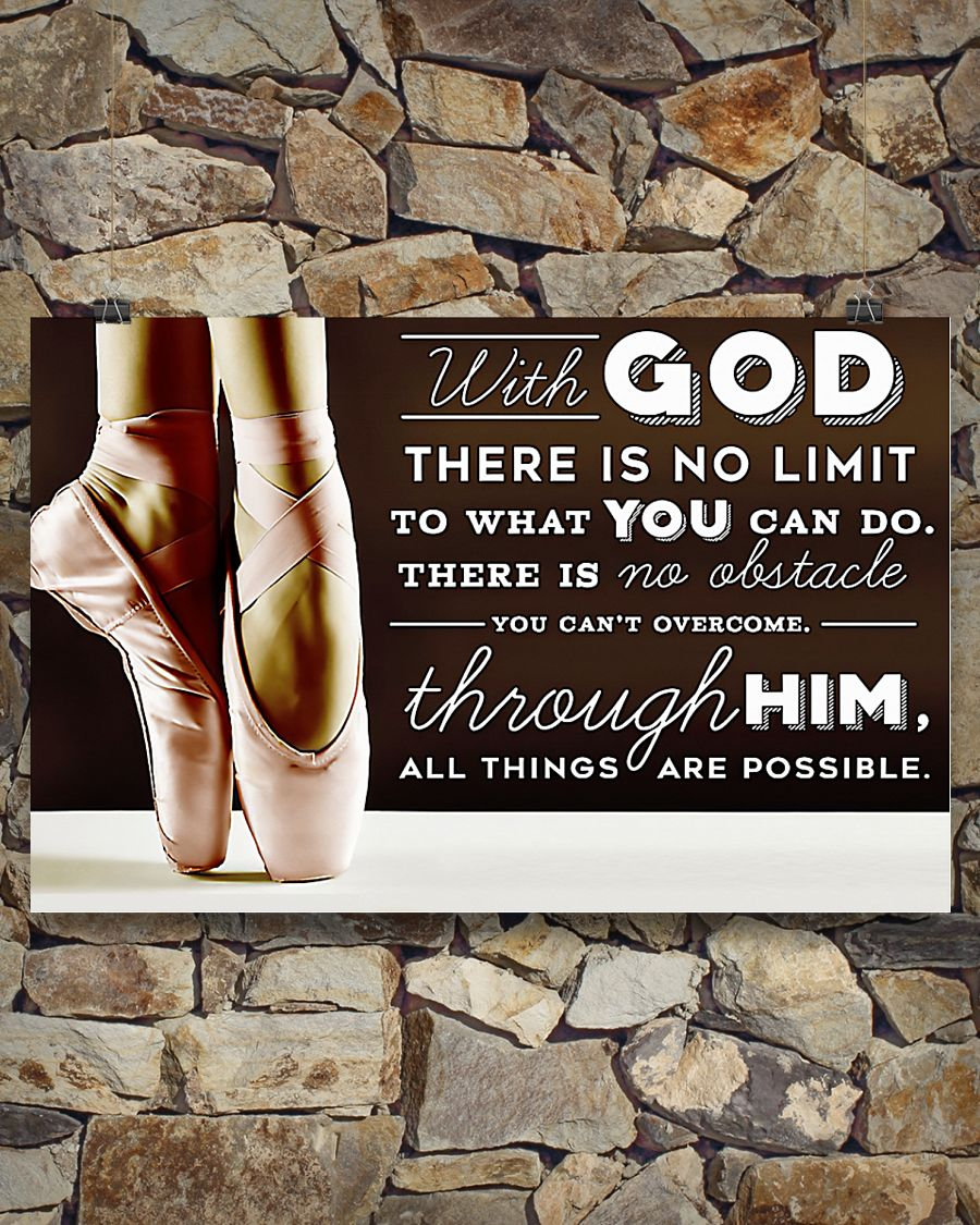 ballet with God there is no limit to what you can do poster 3