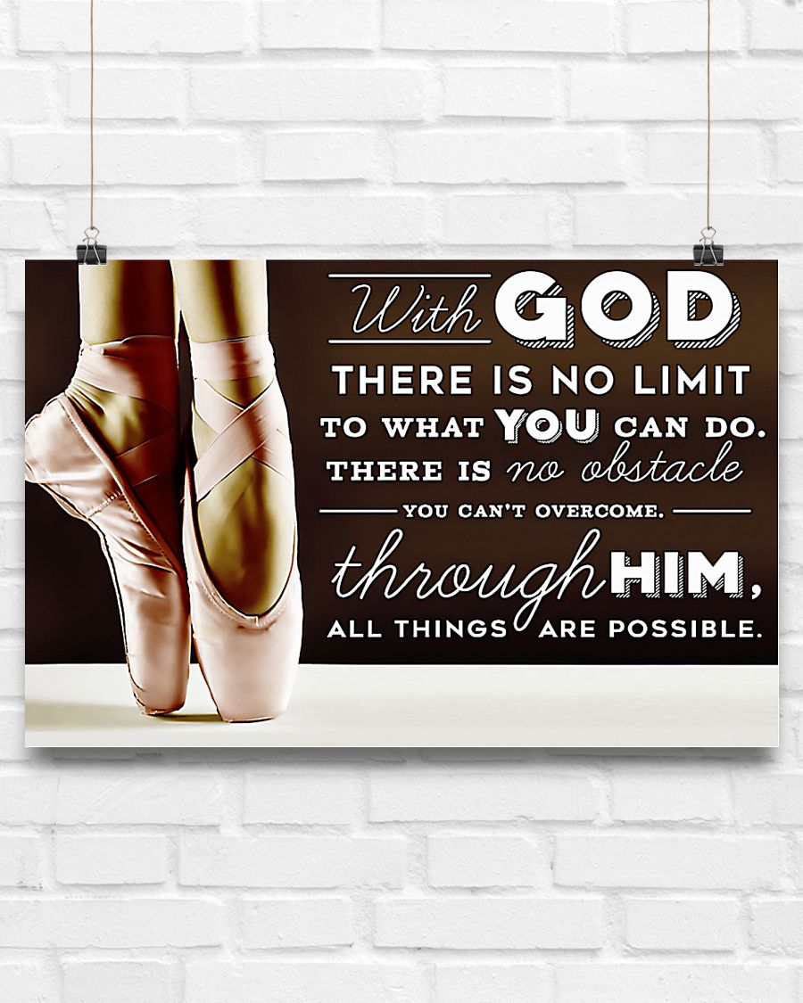 ballet with God there is no limit to what you can do poster 4