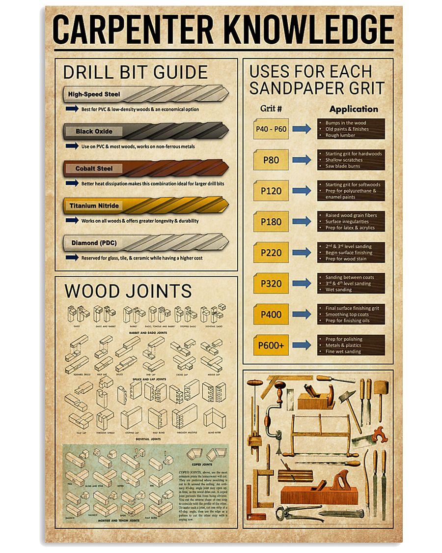 carpenter knowledge vintage poster 1