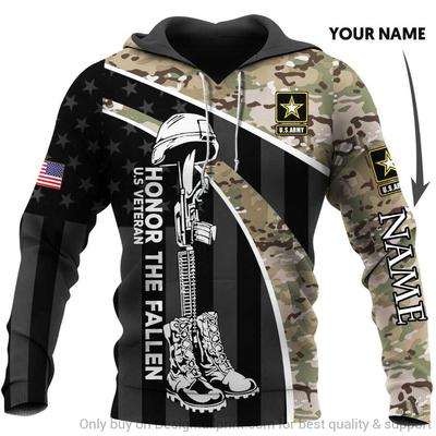custom name us veteran if you havent risked coming home under a flag full over printed shirt 2