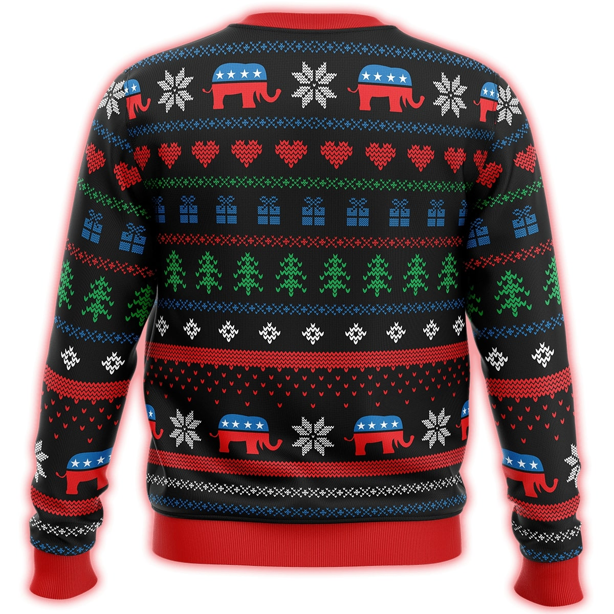 keep america great all over printed ugly christmas sweater 5
