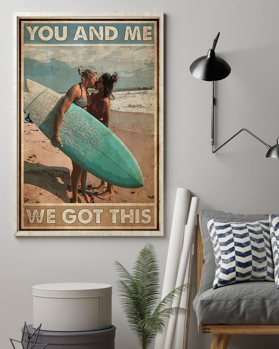lgbt surfing you and me we got this vintage poster 2