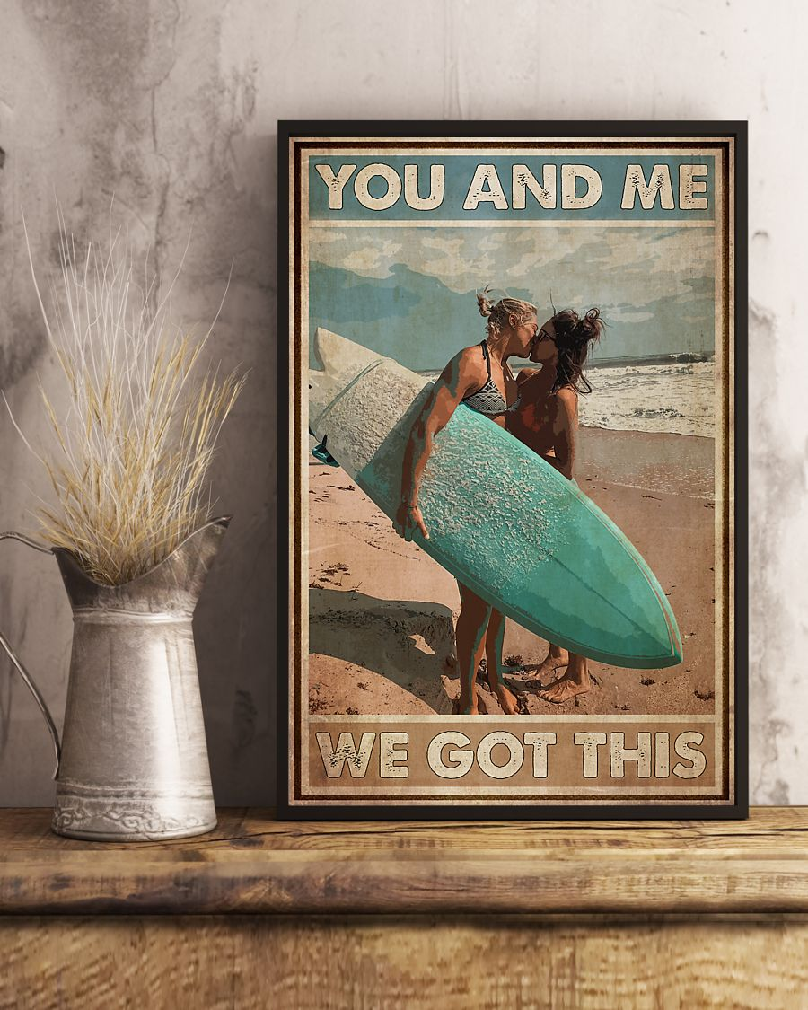 lgbt surfing you and me we got this vintage poster 3