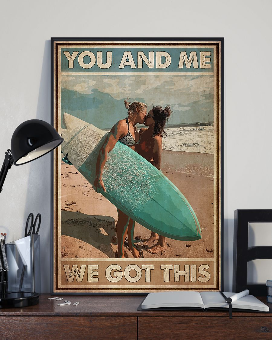 lgbt surfing you and me we got this vintage poster 4