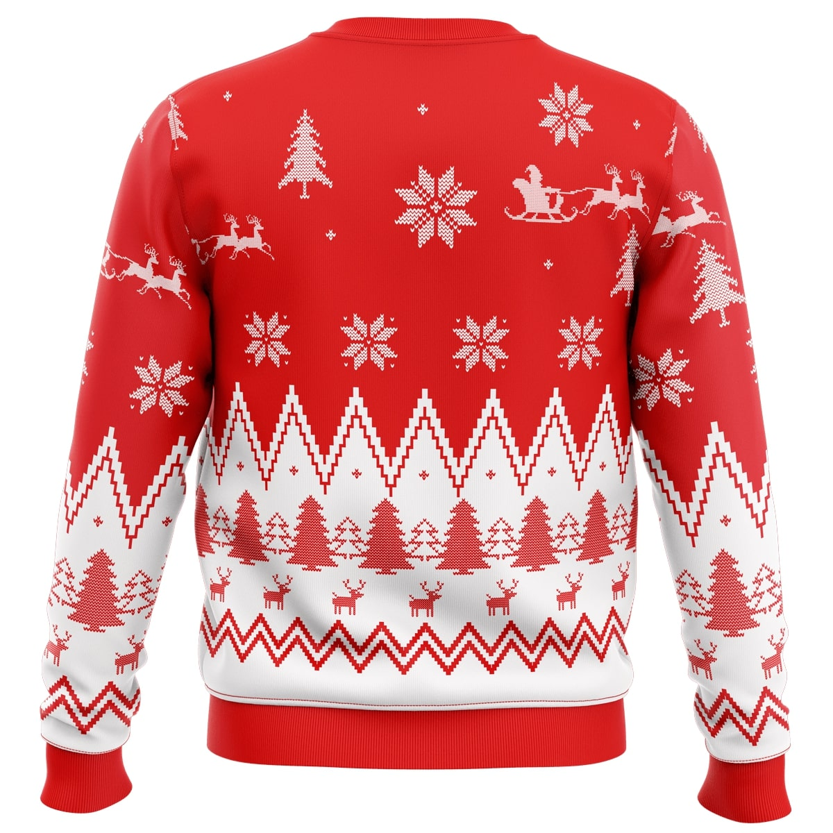 make christmas great again trump all over printed ugly christmas sweater 5