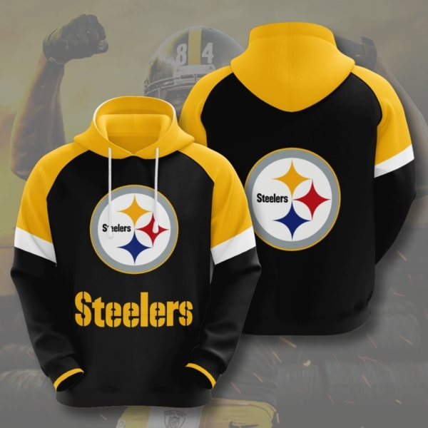 national football league pittsburgh steelers full printing hoodie