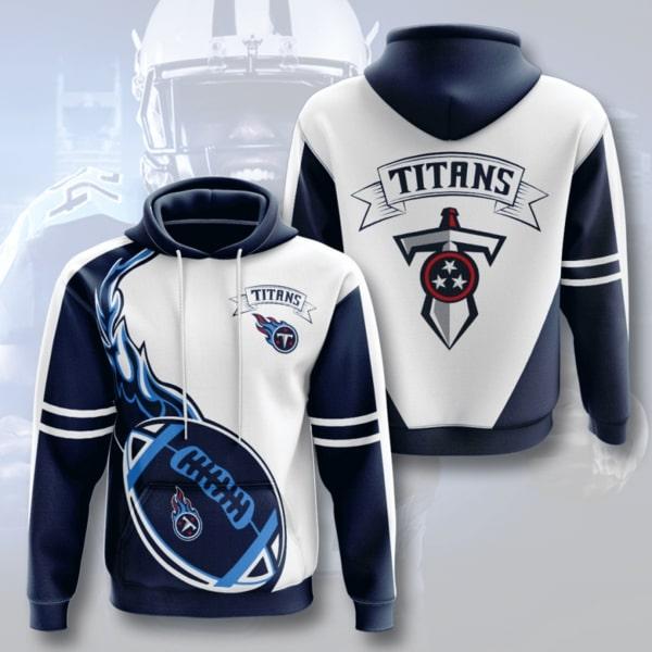 the tennessee titans football team full printing hoodie 1
