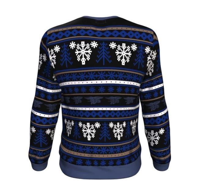 us military navy all over printed ugly christmas sweater 4