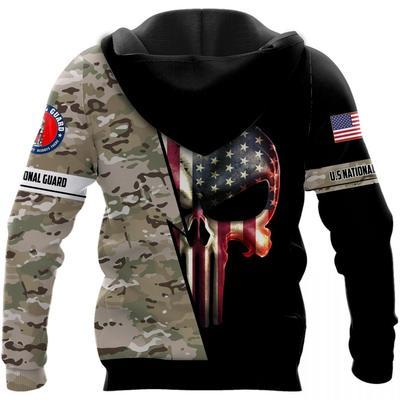 us national guard skull american flag camo full over printed shirt 3