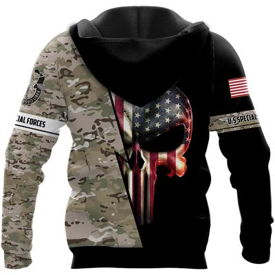 us special forces skull american flag camo full over printed hoodie 1