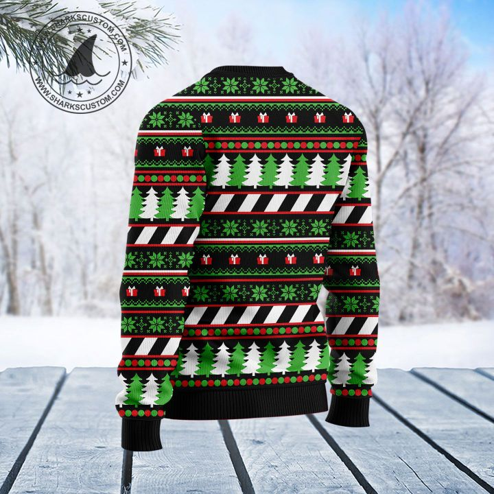 lets bake stuff and watch hallmark movies all over printed ugly christmas sweater 4
