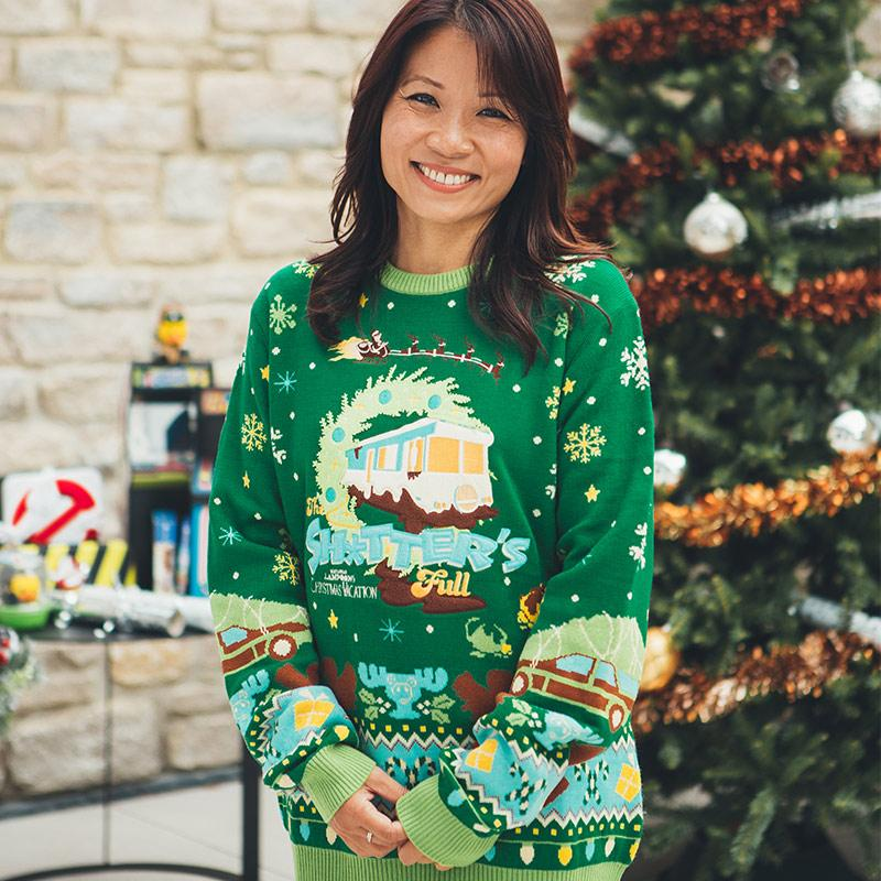 national lampoons christmas vacation all over printed ugly christmas sweater 2