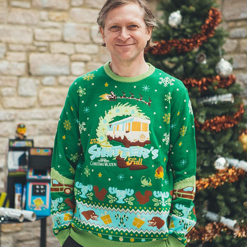 national lampoons christmas vacation all over printed ugly christmas sweater 3