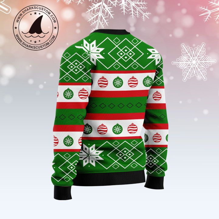 single and ready to jingle all over printed ugly christmas sweater 4