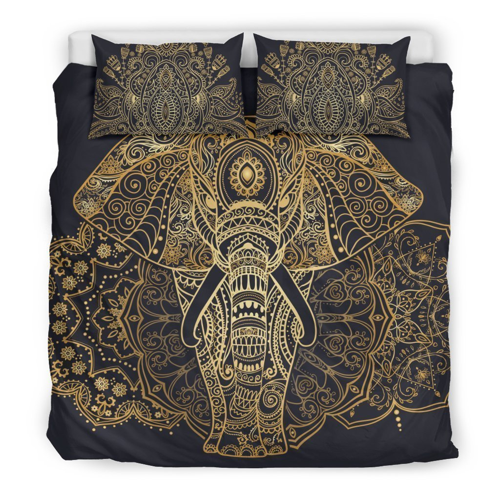 elephant of enlightenment all over printed bedding set 2