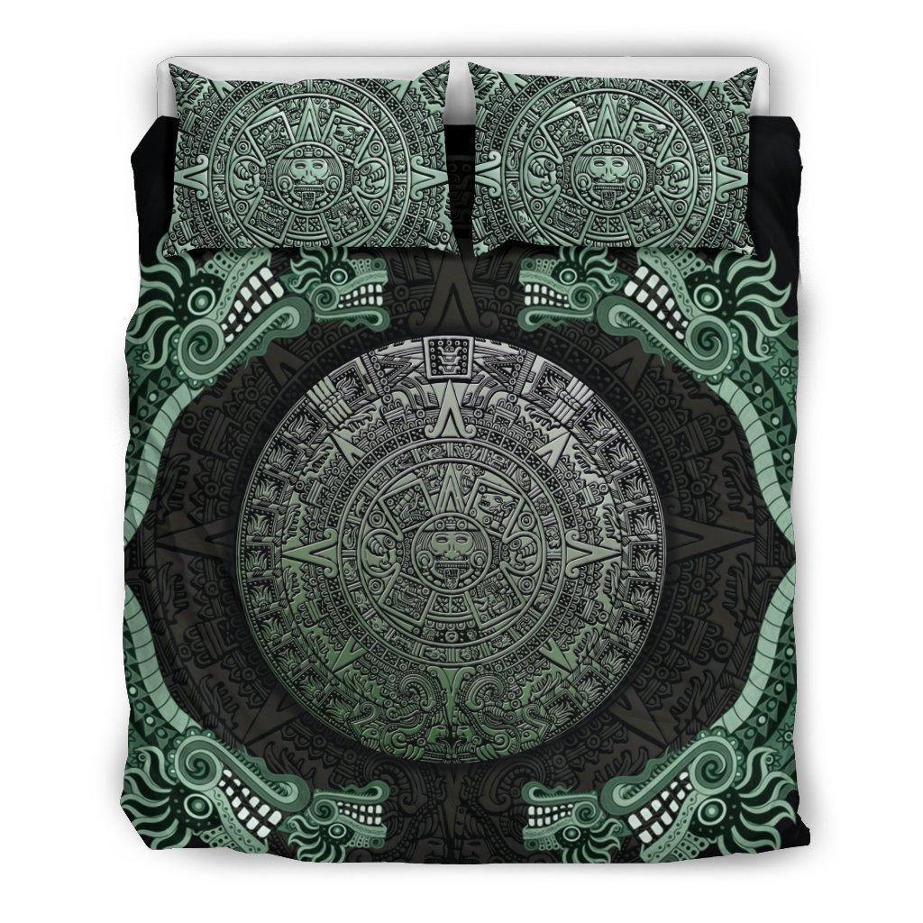 mexico symbols all over printed bedding set 2
